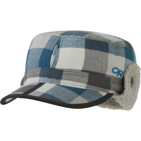 Outdoor Research Yukon Casquette, prussian blue plaid